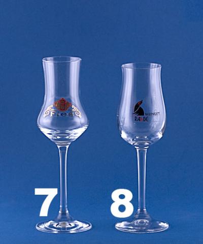 Gläser Destillate